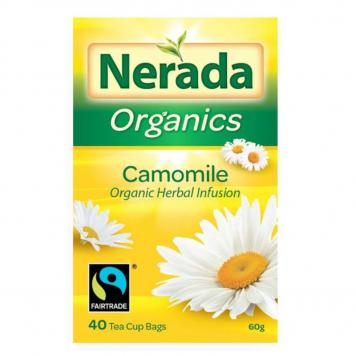 Nerada Organic Fair Trade Camomile Herbal Infusion Tea 200 bags