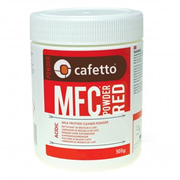 Cafetto Milk Frother Cleaner Powder MFC Red 500g