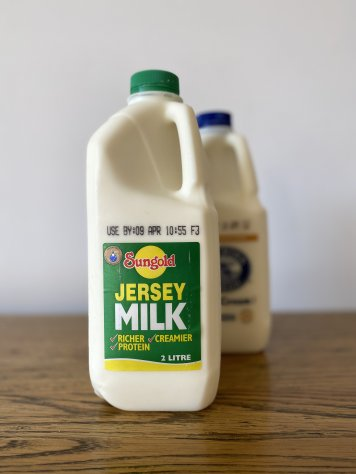 Sungold Jersey Milk 2L to add to your coffee order