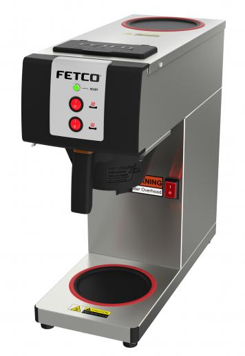 Fetco Pourover Coffee Brewer Dual Warmers CBS-2121PW