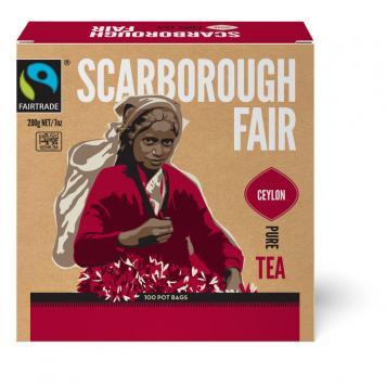 Scarborough Fair  Black Fair Trade Tea 600